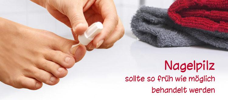 Nagelpilz Behandlung Therapien